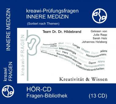 Hör-CD: kreawi Fragen-Bibliothek Innere Medizin Blau
