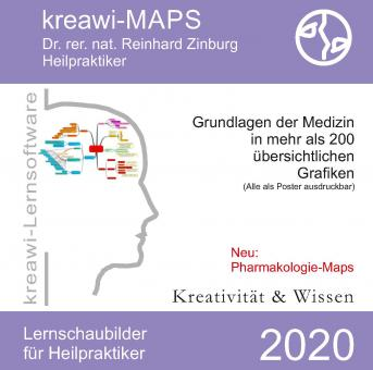 Dr. rer.nat. Zinburg - kreawi-MAPS - CD 2020