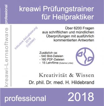 kreawi Prüfungstrainer 2018 - CD-ROM