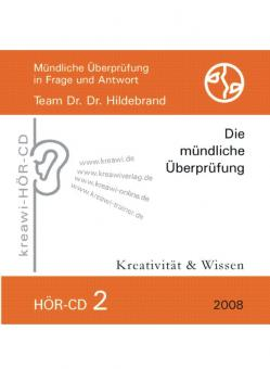 Dr. Dr. Hildebrand: Hör-CD - Mündliche Prüfungen 2