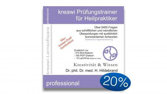 kreawi Prüfungstrainer 2020 - DOWNLOAD-Version - 20 % Sonderrabatt