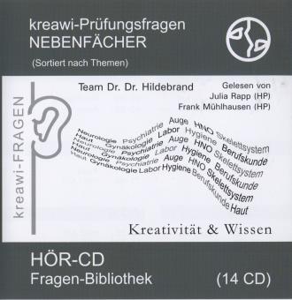 Hör-CD: kreawi Fragen-Bibliothek Nebenfächer Grau
